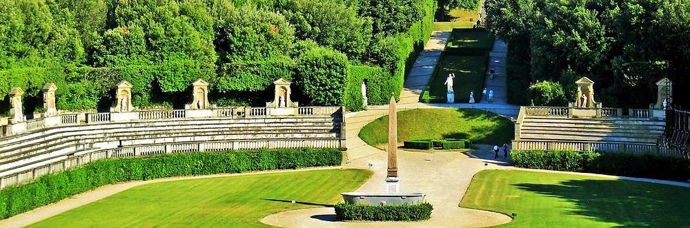Firenze Giardino di Boboli 3 anfiteatro 2