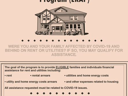 Financial assistance for housing expenses now available through ICCAP.
