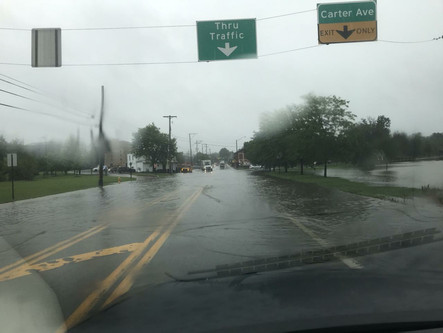 Flash Flooding in Area From Ida