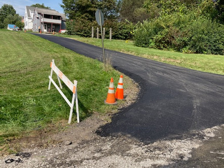 Poplar Ave Paved (Between 13th & Fisher)