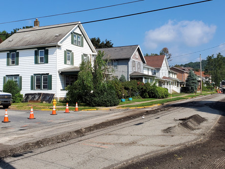 Reminder: 13th St Being Paved This Week!