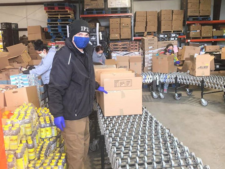 Indiana Borough Police Department Assists Local Food Efforts