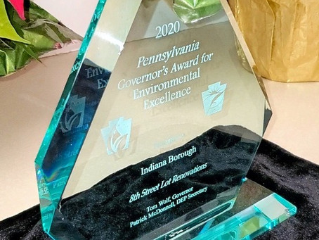 2020 Governor's Awards for Environmental Excellence - We won an award!