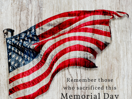 Memorial Day 2020: Offices Closed & No Recycling