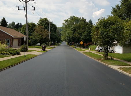 Summer Paving Complete