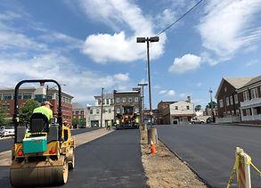 8th Street Lot Paving