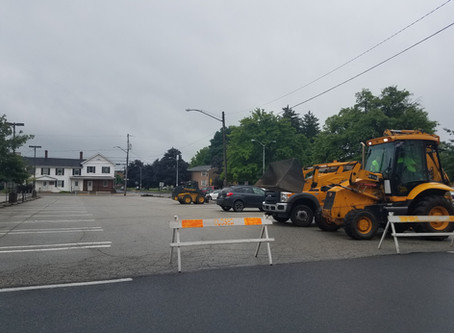 8th Street Lot Renovations Starting Today!