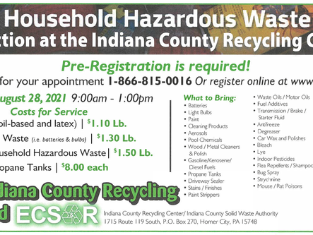 Hazardous Waste Collection Event on 8/28