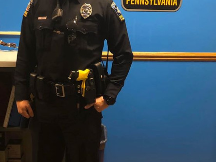 PPE Equipment Issued to Officers