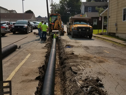 Public Works Pipe Replacement