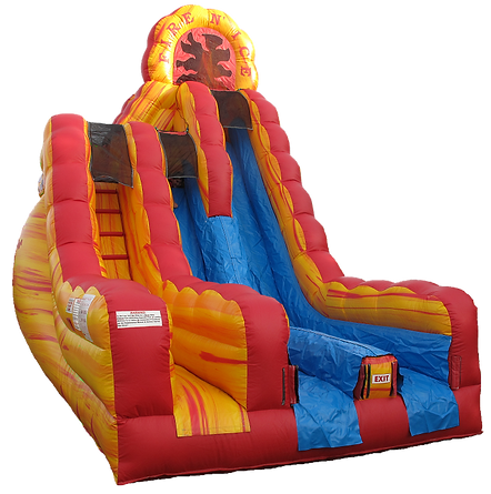 20' tall inflatable slide for rent