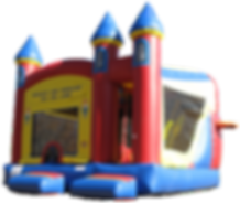Big inflatable bounce house combo bouncer