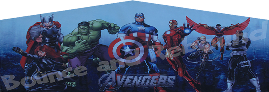 Avengers Superheroes Bounce House