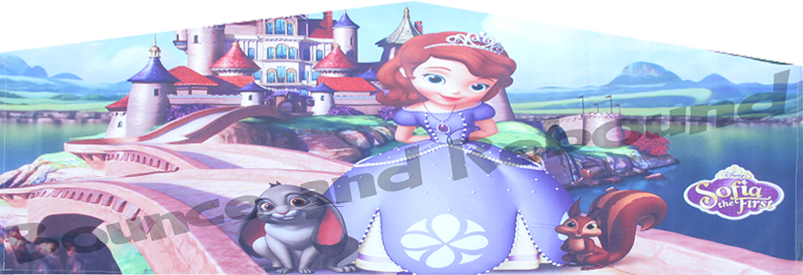 Sofia the First Bounce House Rental