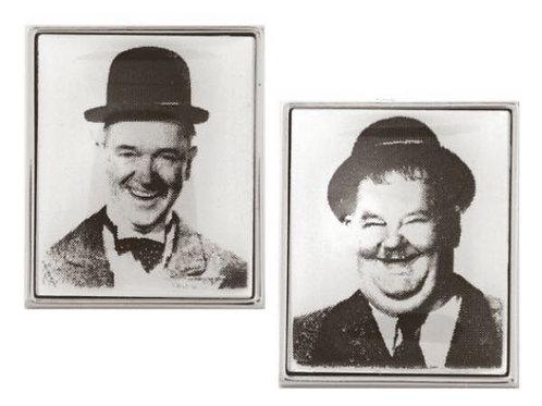 Laurel & Hardy Cufflinks