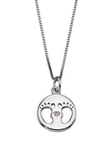 Footprint Necklace