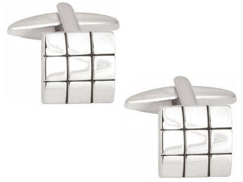 Three Square Cufflinks