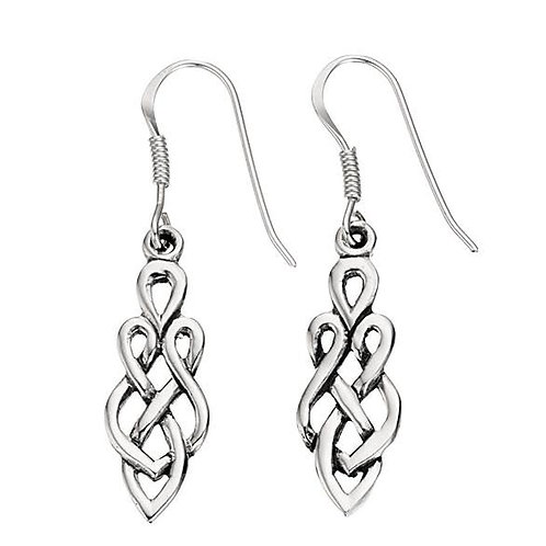 Sterling Silver Celtic Droppers