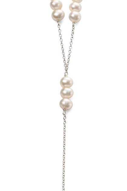 Silver Fresh Water Pearl Necklace