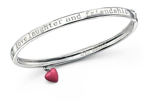 Love, Laughter & Friendship Bangle