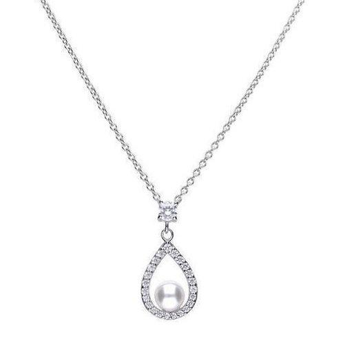 Dazzling 0.55 ct Teardrop Shape Necklace