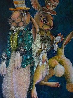 Faulds_Rabbit Time (I'm late, I'm late,