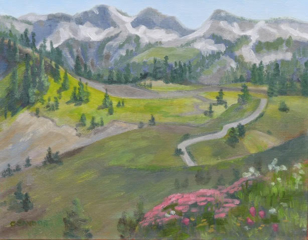 Carol Sandor_Rainier Meadow, 11 x 14.jpg
