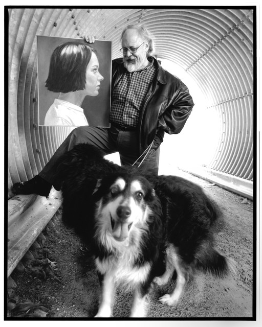 Paul Missal with dogs
