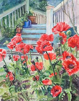 Judith Howard, Welcome Home, 18 x 22, wa