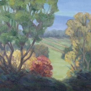 Carol Sandor_Fruit Valley Harvest, 16 x
