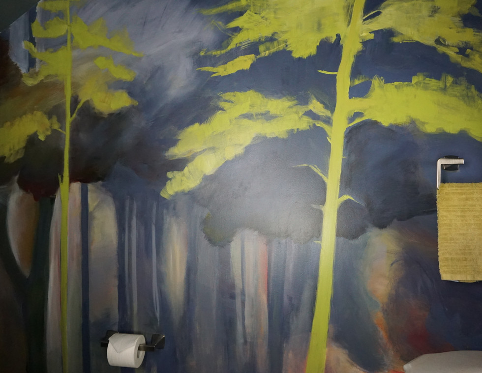 Moody Forest Mural