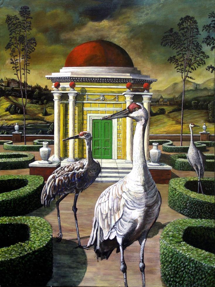 Cranes in Rafaello's Garden