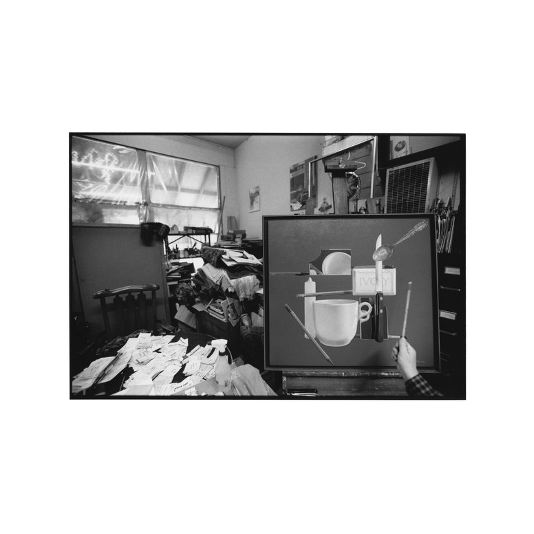 Paul Missal in his studio