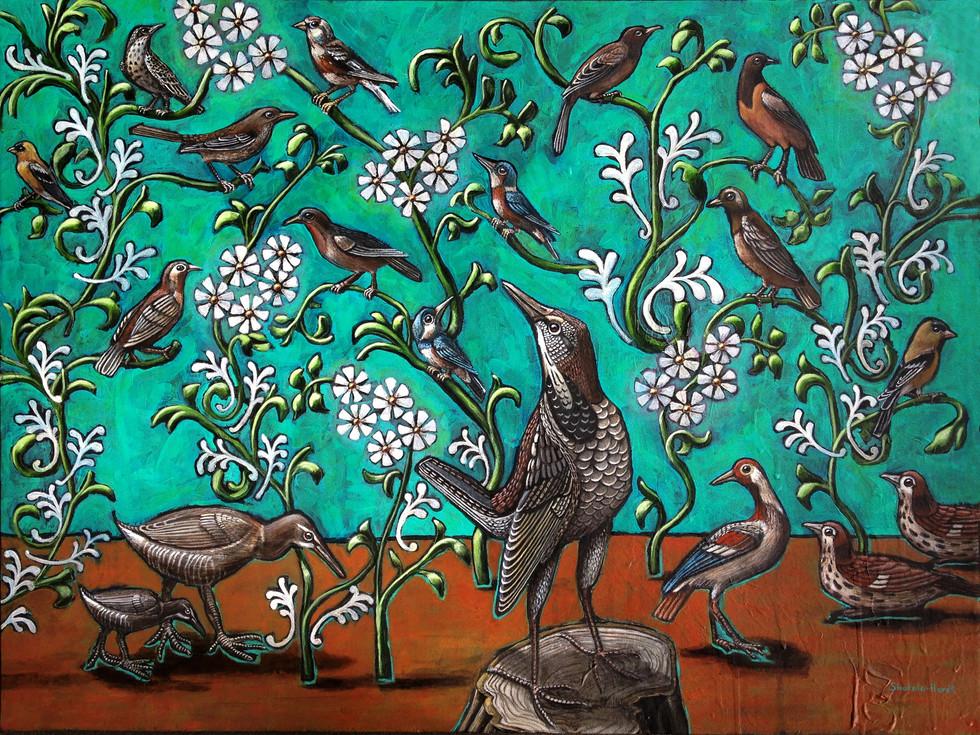 Catesby's Sturnella & Seventeen Birds for the 17th Century