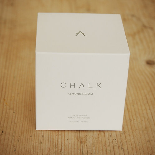 Almond Cream Candle from CHALK UK