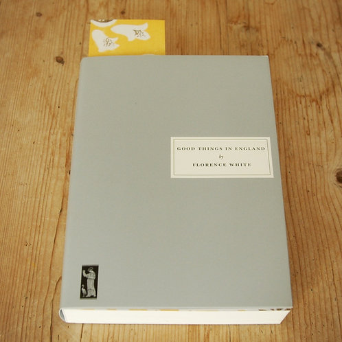 Persephone Books Good Things in England by Florence White