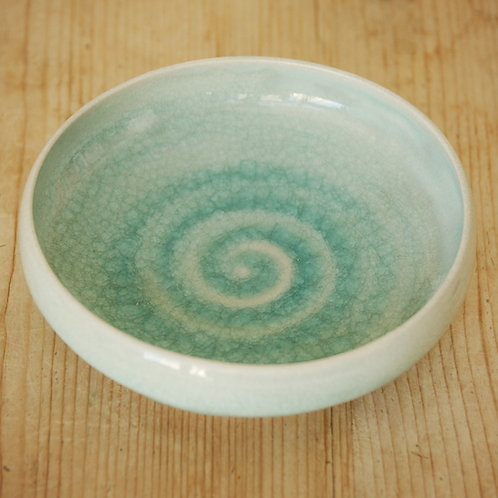 Judith Swannell Ceramics CP Green Small Dish
