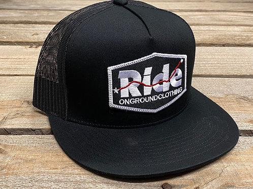 Ride Logo Snap Back (Red GPS)