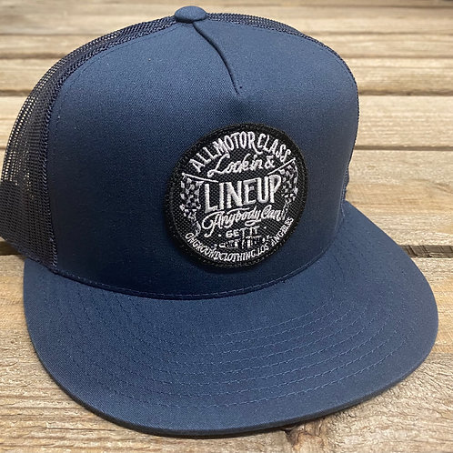 Line Up Snap Back (Navy Blue)