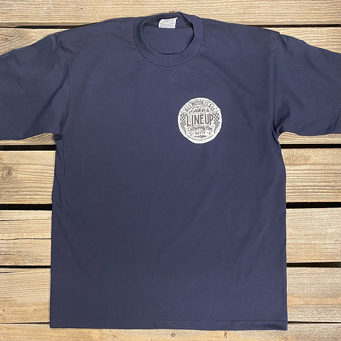 Line Up Tee (Navy Blue)