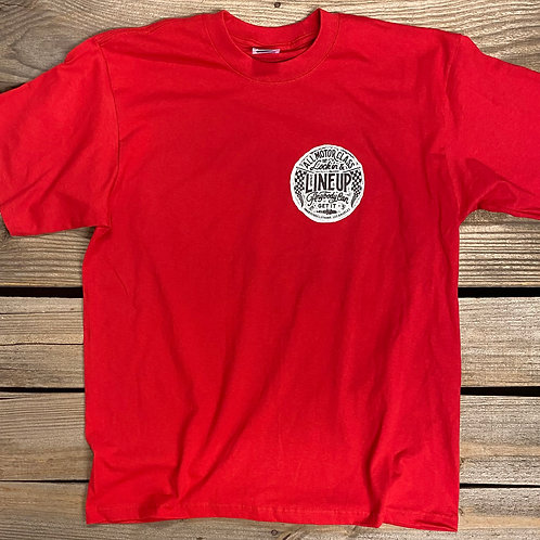 Line Up Tee (Red)
