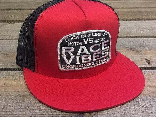 Motor VS Motor/Race Vibes Trucker Snapback (Red)