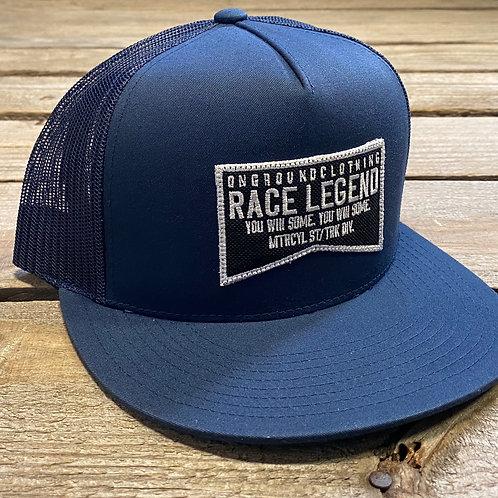 Race Legend Snap Back (Navy Blue)