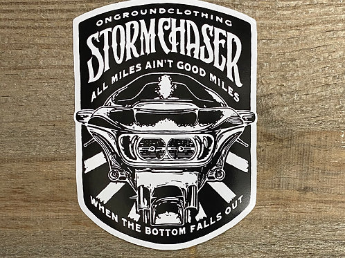 Storm Chaser Tool Box Sticker