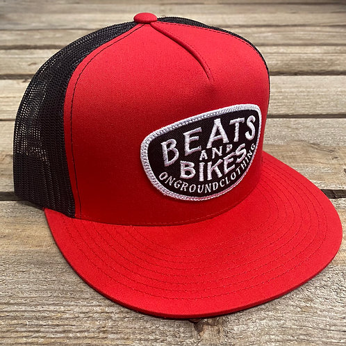 Beats And Bikes Snap Back (Red)
