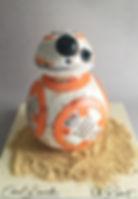 BB-8 Cake Star Wars Τουρτα ρομπότ