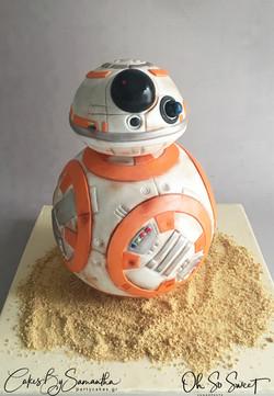 BB-8 Cake 1