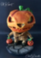 Mr Pumpkin Head Collector Halloween Cake Τουρτα κολοκύθα