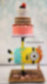 Τούρτα Minion μινιον 3D Cake