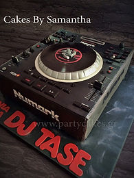 DJ Decks Cake Numark Τουρτα
